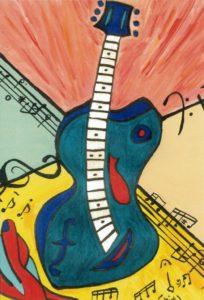 Four Color Guitar