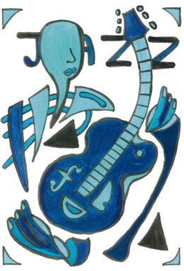 Azul Guitar